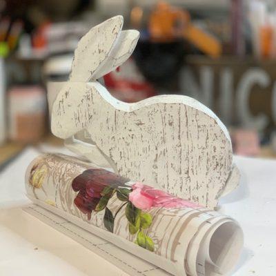 DIY Sparkle Easter Decoration